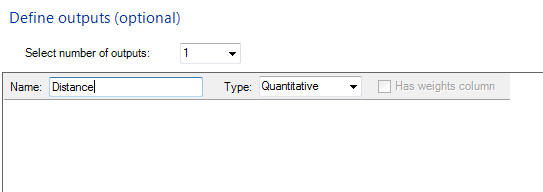 Quantum XL Choose Output Name