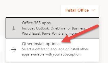 Start office Install